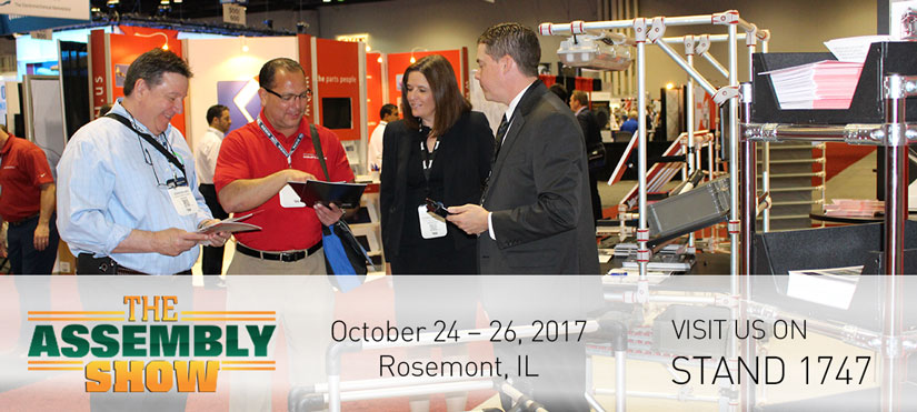 Discover TRILOGIQ modular systems at The Assembly Show 2017